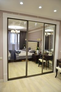 Шкаф-купе-гардероб-спальня